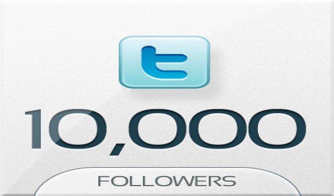 عشرة آلاف متابع على توتير... - تفخر الجمعية بالمتابعين...